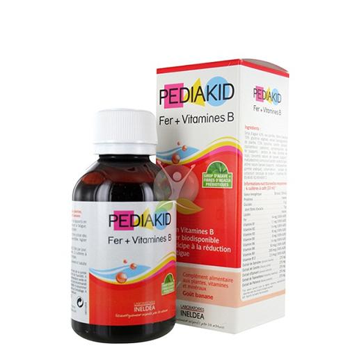 pediakid sat va vitamin nhom b 125ml