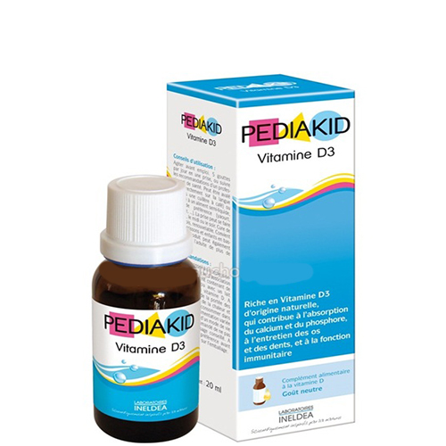 pediakid vitamin d3 125ml