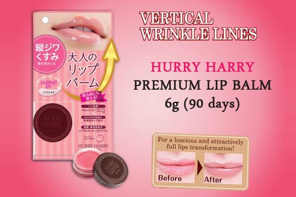 Hurry Harry Premium Lip Balm dưỡng môi căng mọng