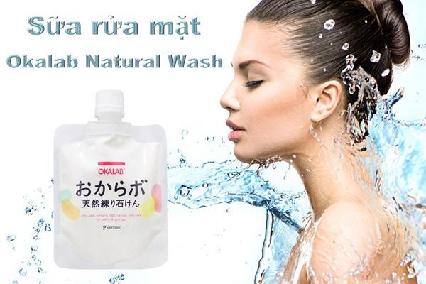 Sữa rửa mặt Okalab giúp làm sạch nhưng không gây khô da