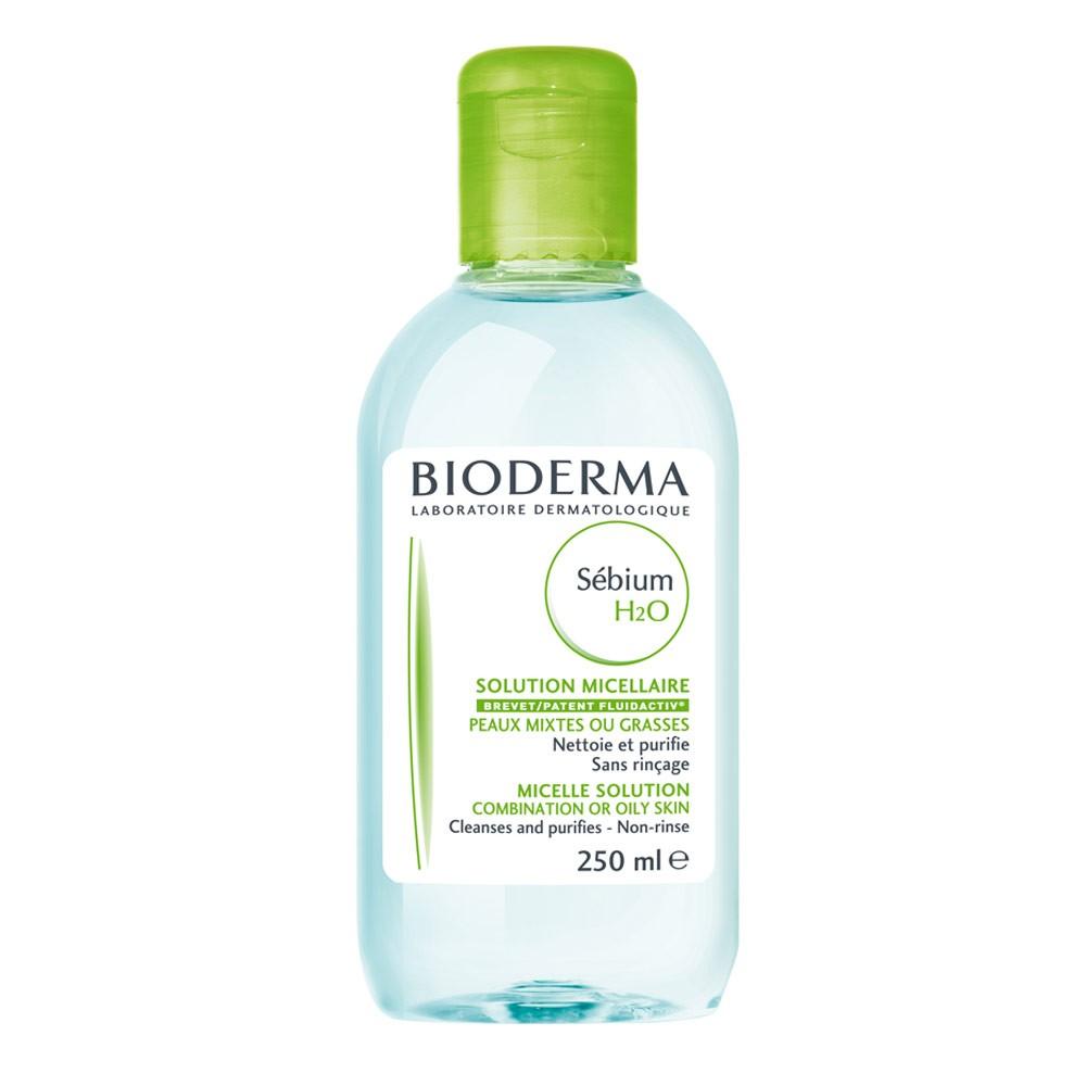 Nước tẩy trang Bioderma dành cho da dầu, da hỗn hợp Bioderma Sebium H20 250ml