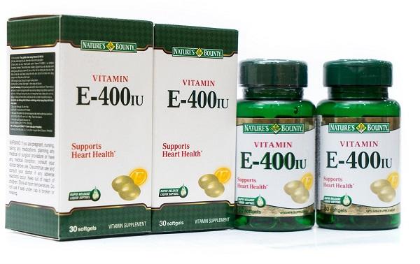 Nature's Bounty Vitamin E 400IU không chỉ làm đẹp da mà còn tăng cường hệ miễn dịch cho cơ thể