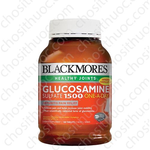 blackmores glucosamine sulfate 1500 onaday