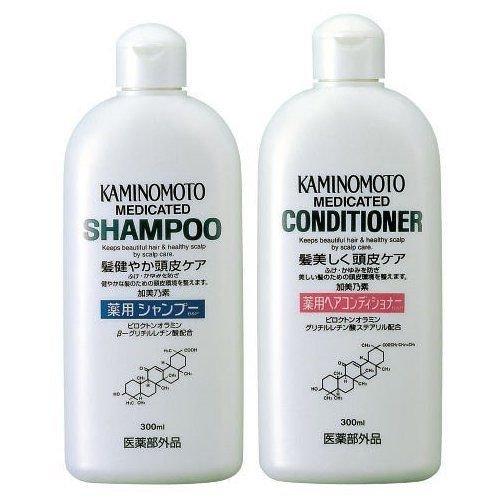Bộ đôi sản phẩm kích thích mọc tóc Kaminomoto