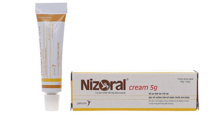 Nizoral là kem bôi điều trị lang ben rất hữu hiệu hiện tại