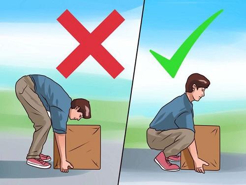 Vận động sai tư thế có thể dẫn đến đau xương sống