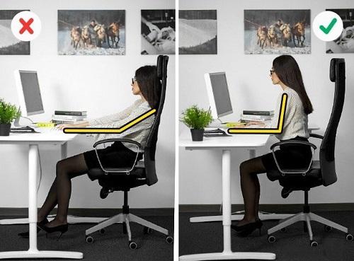 Luôn giữ cột sống thẳng là cách để phòng tránh đau lưng hiệu quả