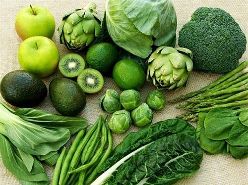 Ăn nhiều rau xanh giúp hệ tiêu hóa hoạt động tốt hơn