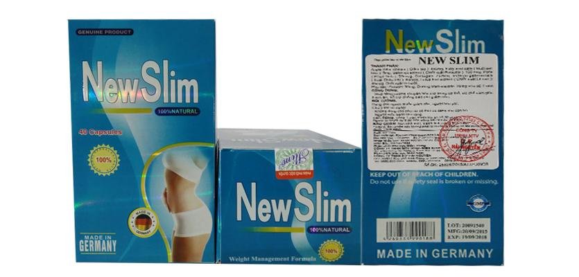 New Slim là sản phẩm được khuyến khích sử dụng để giảm cân