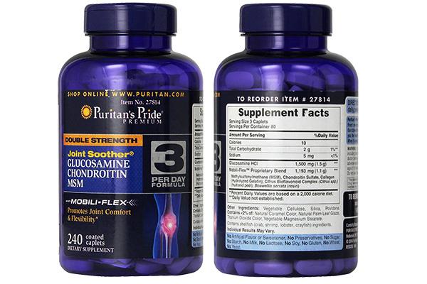 Glucosamine hỗ trợ điều trị các bệnh về xương khớp hiệu quả