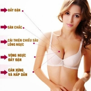Sản phẩm giúp cải thiện toàn diện cho vòng ngực
