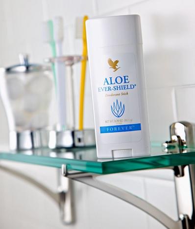 Forever Aloe Ever Shield giúp bảo vệ cơ thể ngăn ngừa mùi mồ hôi