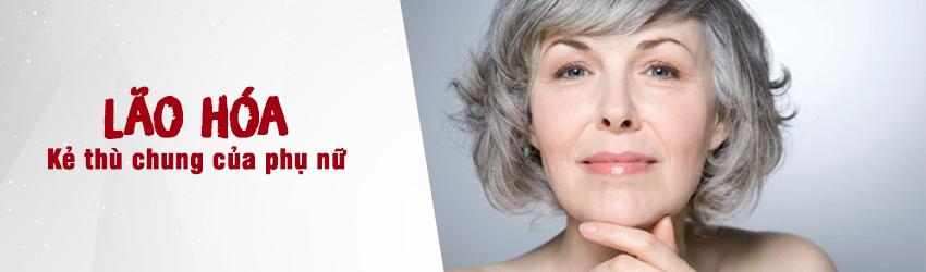 Lão hóa da mặt thường xảy ra ở phụ nữ tuổi 30