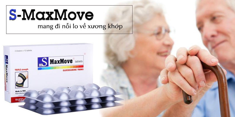 S-MaxMove thực phẩm chức năng dành cho người bị xương khớp