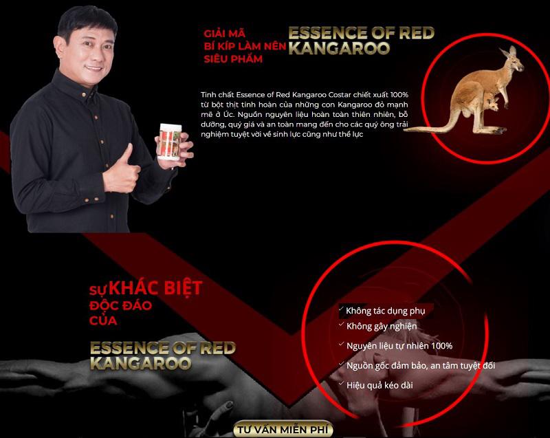 Sự khác biệt của Essence of Red Kangaroo 20800mg