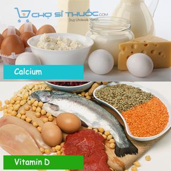 Thành phần chính Ostelin Kids Vitamin D & Calcium
