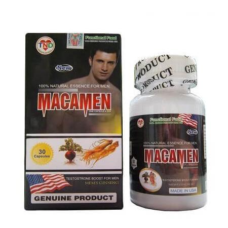 Sử dụng MacaMen mỗi ngày để cải thiện khả năng sinh lý