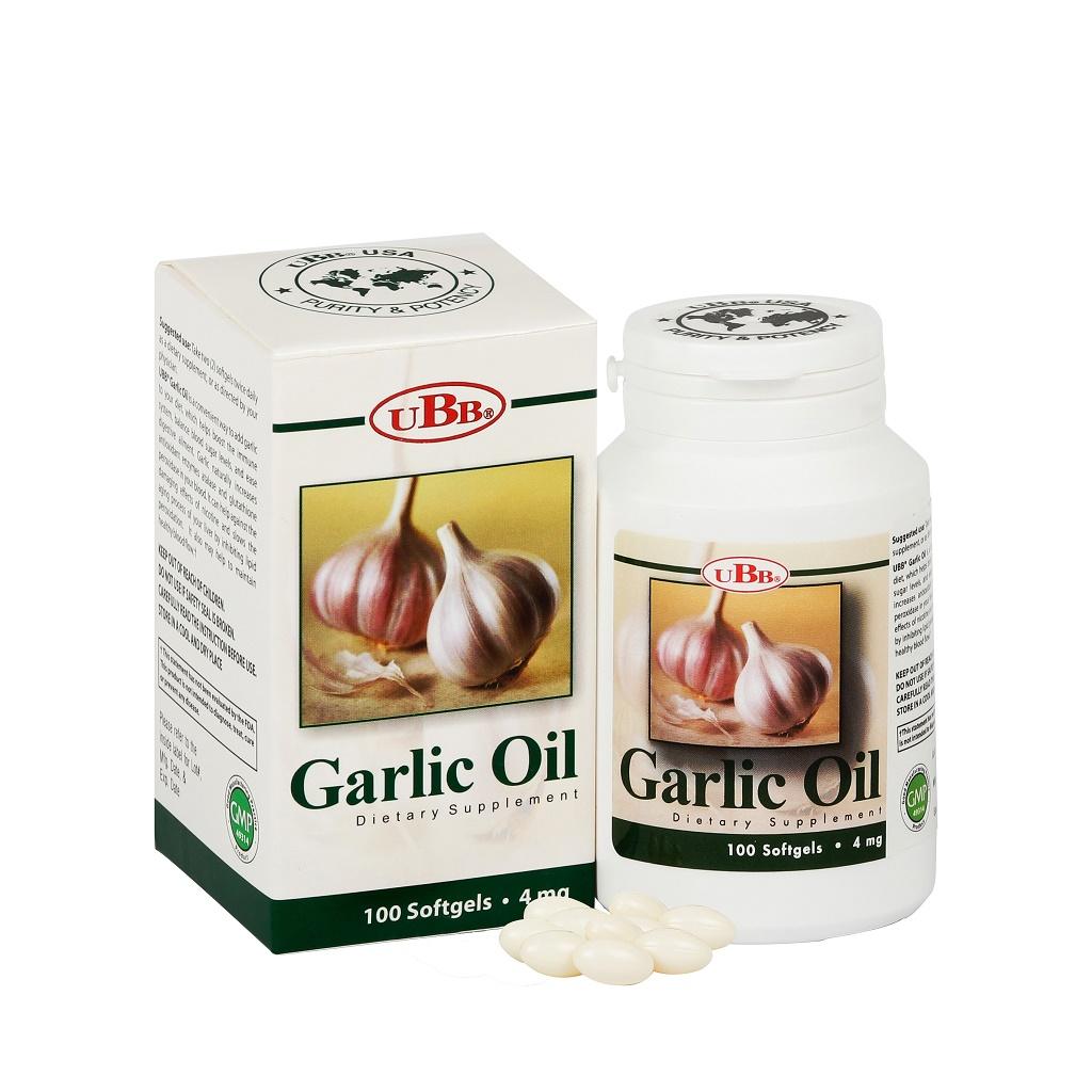 Thực phẩm bảo vệ sức khỏe UBB® GARLIC OIL