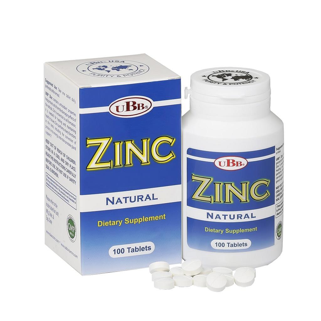 Thực phẩm chức năng UBB ZINC