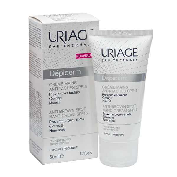 Uriage Dépiderm Cream Mains Anti-taches SPF15